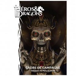 Jeux de rôle - Héros & Dragons : Cadre de Campagne de poche