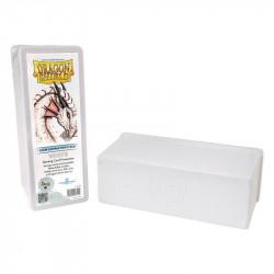 Deck box boite de rangement Dragon Shield 4 compartiments - Blanc