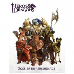 Jeux de rôle - Héros & Dragons - Dossier de personnage