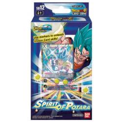 Précommande Starter Dragon Ball Super Card Game Deck 12 - Spirit of Potara Juillet 2020