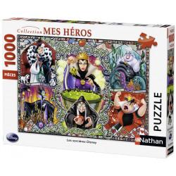 Puzzle Nathan : Collection Mes Heros - Les Méchantes de Disney - 1000 Pièces