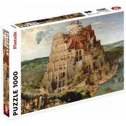Puzzle Piatnik : Pieter Bruegel : La Tour de Babel - 1000 Pièces