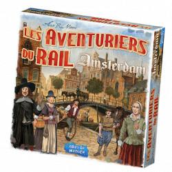 Jeux de société - Les Aventuriers du Rail Amsterdam