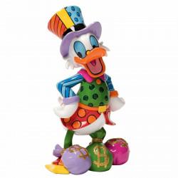 Figurine Disney Britto Picsou - Uncle Scrooge with Money Bag Figurine