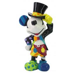 Figurine Disney Britto Mickey Coiffé d'un Chapeau Haut de Forme - Mickey Mouse With Top Hat