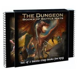 Livre plateau de jeu : The Dungeon Books of Battle Mats