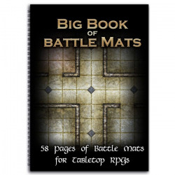 Livre plateau de jeu : Big Book of Battle Mats