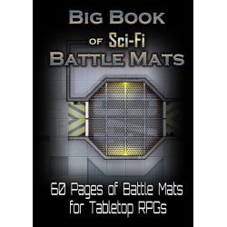 Livre plateau de jeu : Big Book of Sci Fi Battle Mats