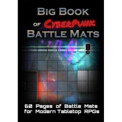 Livre plateau de jeu : Big Book of CyberPunk Battle Mats