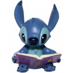 Figurine Disney Showcase Stitch avec un livre - Stitch Book Figurine