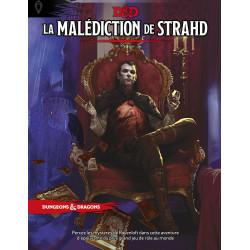 Jeux de rôle - Dungeons & Dragons 5e Éd. : La Malédiction de Strahd - Version française D&D