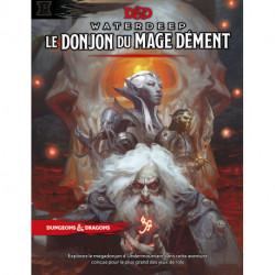 Jeux de rôle - Dungeons & Dragons 5e Éd. : Waterdeep - Le Donjon du Mage Dément - Version française de Donjon et Dragon