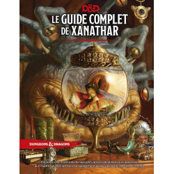 Jeux de rôle - Dungeons & Dragons 5e Éd. : Le Guide Complet de Xanathar - Version française de Donjon et Dragon