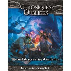 Jeux de rôle - Chroniques Oubliées - Recueil de scénarios d'initiation