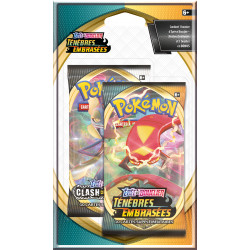 Booster Pokémon Célébration Epée et Bouclier - Ténèbres Embrasées