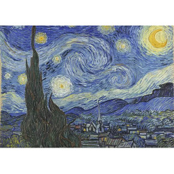 Micro Puzzle : The Starry Night - 40 Pièces