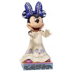 Figurine Disney Tradition Minnie La Reine des Hurlements - Scream Queen