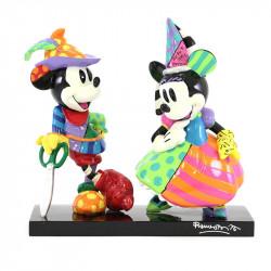 Figurine Disney Britto Mickey et Minnie New Limited
