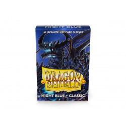 Protège-cartes Dragon Shield - 60 Japanese Sleeves Classic Night Blue - Zugaï