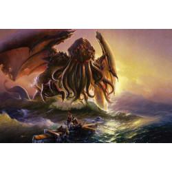 Tapis de jeu Kraken Wargames Playmath - Cthulhu