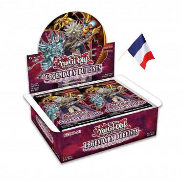Booster Yu-Gi-Oh! Duellistes Légendaires : la Rage de Râ boite complète