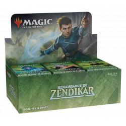 Booster Magic Renaissance de Zendikar boite complète