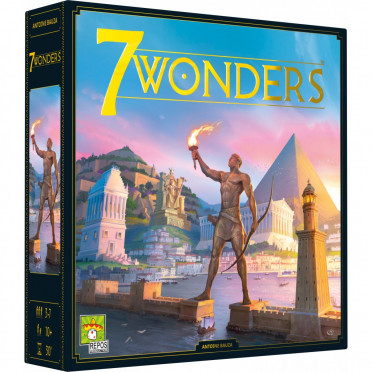 Jeux de société - 7 Wonders Nouvelle Edition
