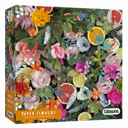 Puzzle Gibsons Jigsaw : Paper Flower - 1000 Pièces
