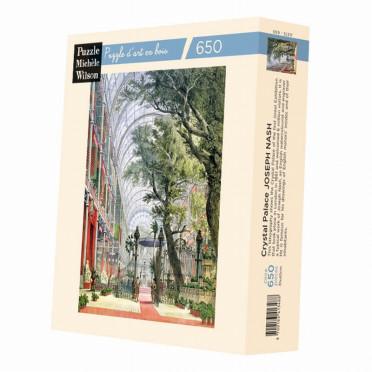 Puzzle Michèle Wilson : Joseph Nash - Chrystal Palace - 650 Pièces