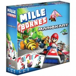 Jeux de société - Mille Bornes : Mario Kart