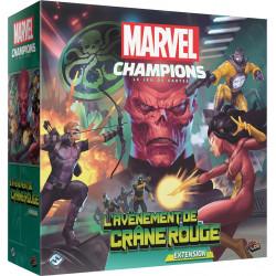 Jeux de société - Marvel Champions : Le Jeu De Cartes - L'Avènement de Crâne Rouge