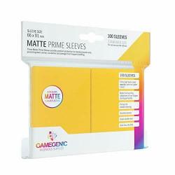 Protège-cartes Gamegenic Standard Matte - Jaune
