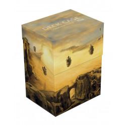 Deck box boite de rangement Ultimate Guard case 80+ standard Lands Edition II Plaine