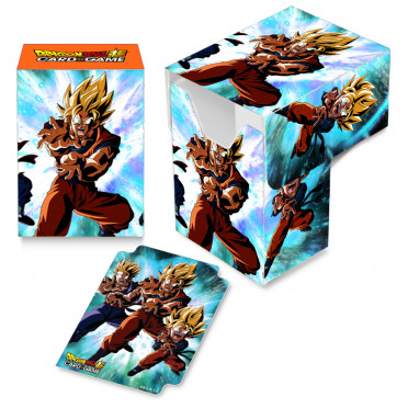 Deck box illustrée boite de rangement Ultra Pro Dragon Ball Super - Family Kamehameha