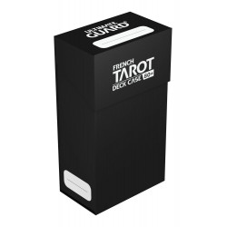 Deck box boite de rangement Ultimate Guard French Tarot Deck Case 80+ Noir