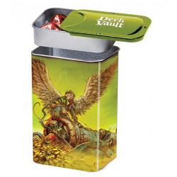 Dark side of oz boîte métal pour cartes nesting deck vault tin man