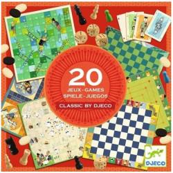 Jeux de société - Coffret 20 Jeux Classiques