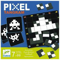 Jeux de société - Pixel Tangram