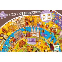 Puzzle Djeco Observation - Histoire + Livret - 350 pièces