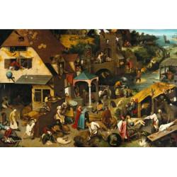 Micro Puzzle : Proverbe Hollandais - 40 Pièces