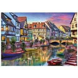 Micro Puzzle : Colmar Canal - 40 Pièces