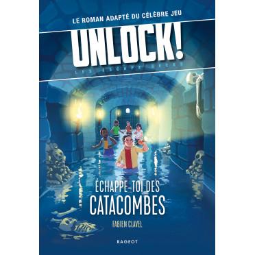 Jeux de société - Unlock! Escape Geeks - Échappe-toi des Catacombes