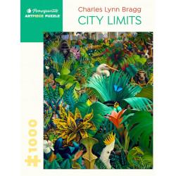 Puzzle Pomegranate : City Limits - 1000 Pièces