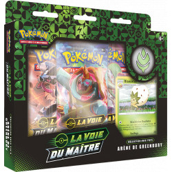 Coffret Pokémon : Coffret Pin's La Voie du Maitre : Arène de Greenbury