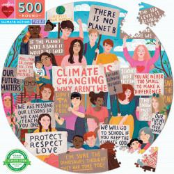 Puzzle Eeboo : Action Climat - 500 Pièces