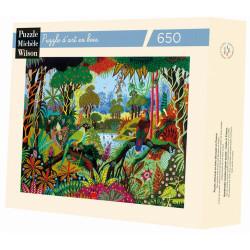 Puzzle Michèle Wilson : Thomas - Perruche et Amazone - 650 Pièces