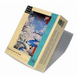 Puzzle Michèle Wilson : Hiroshige - Le pont de Meguro - 250 Pièces