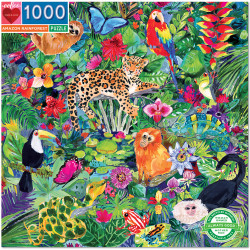 Puzzle Eeboo : Amazon Rainforest - 1000 Pièces