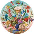 Puzzle Eeboo : Crazy Bug Bouquet - 500 Pièces