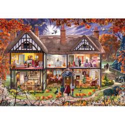 Micro Puzzle - Halloween House